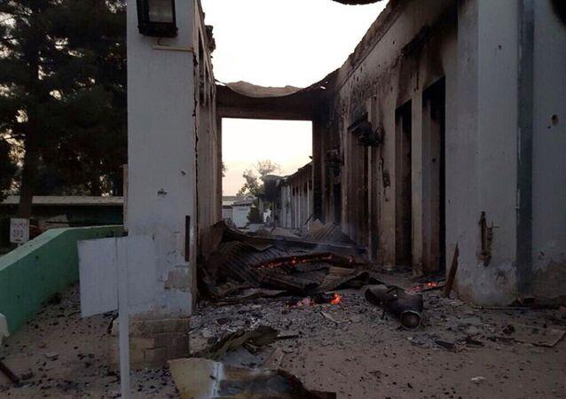 Hospital do Médicos Sem Fronteiras bombardeado pelos EUA no norte do Afeganistão em 3 de outubro de 2016