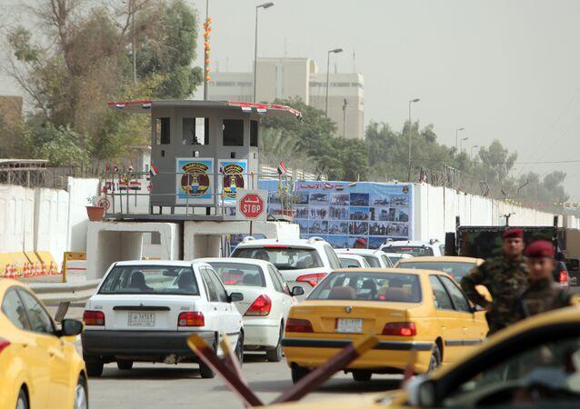 Zona Verde de Bagdá, reaberta parcialmente ao público e ao tráfego nesta segunda-feira (5), após 12 anos