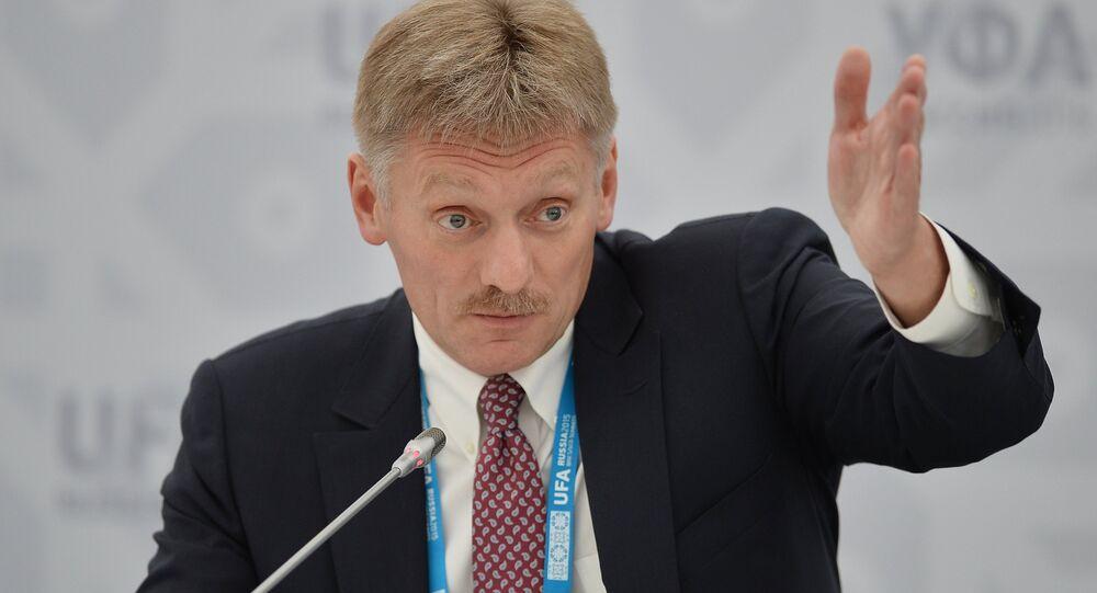 Press briefing by Russian Presidential Press Secretary Dmitry Peskov