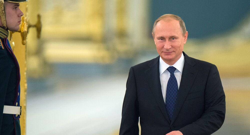Vladimir Putin, presidente da Rússia e homem mais poderoso do mundo, segundo a Forbes