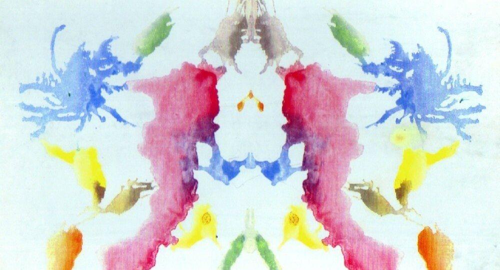 Imagem do teste de Rorschach