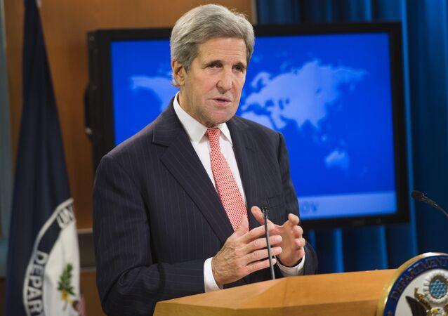 Secretário do Estado dos EUA, John Kerry