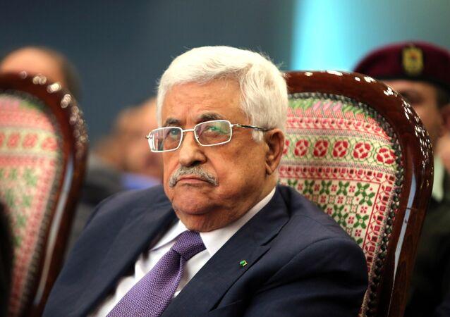 Presidente da Palestina Mahmoud Abbas