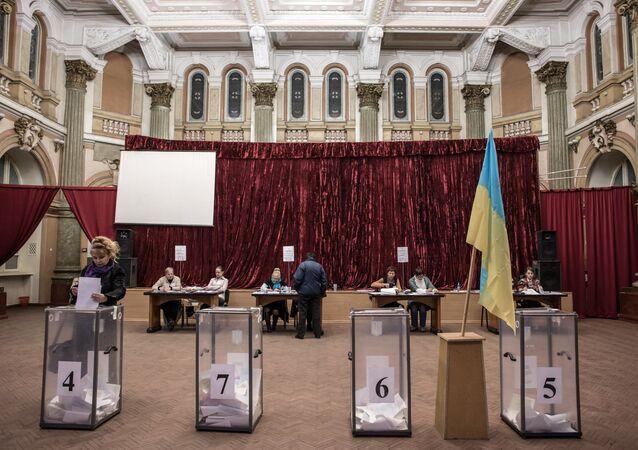 Eleições locais na Ucrânia