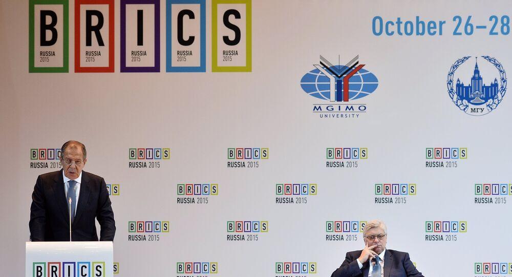Chanceler e reitor de uma das maiores universidades russas na cúpula dos BRICS