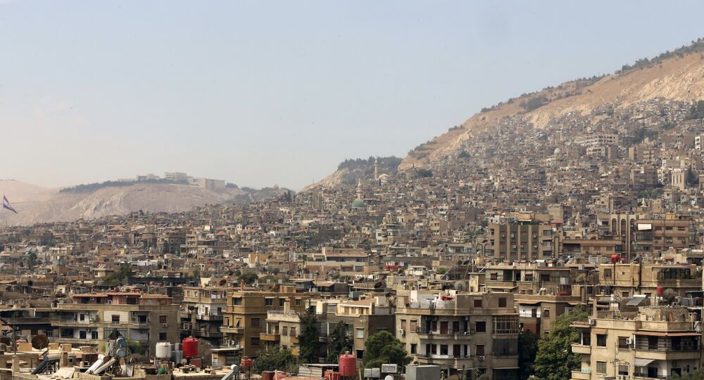 A vista para Damasco, Síria