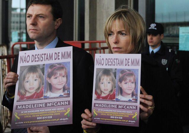 Gerry e Kate McCann, pais da menina Madeleine McCann, desaparecida em 2007 durante férias com a família em Portugal