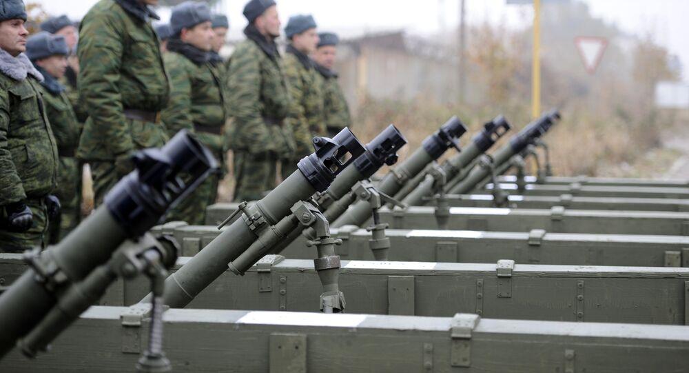 Milicianos da República Popular de Donetsk retiraram armamentos (imagem referencial)