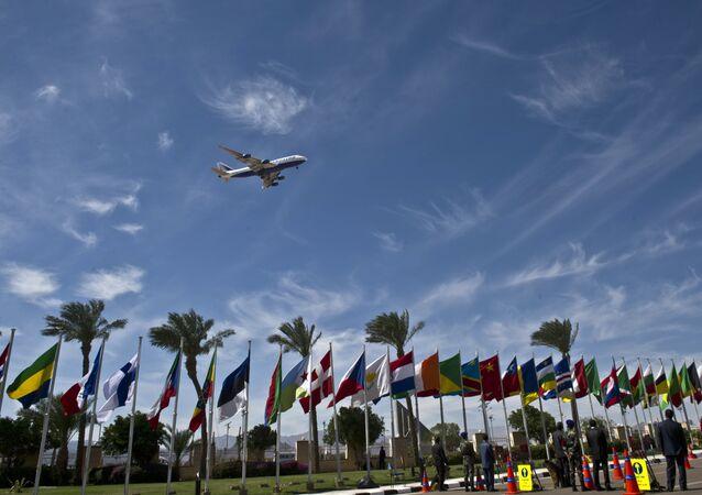 Aeroporto de Sharm el-Sheikh, no Egito