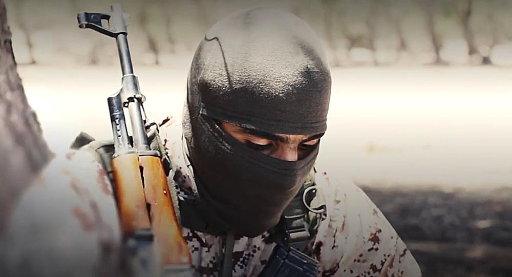 Militante do grupo terrorista Estado Islâmico