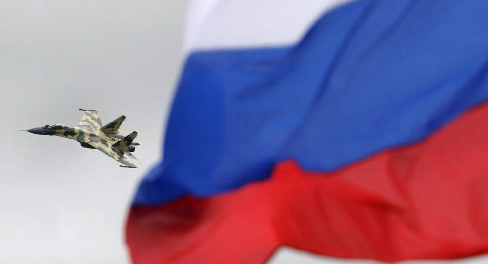 Caça de quinta geração russa Su-35