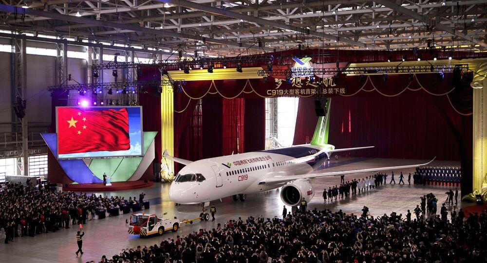 Avião chinês C919