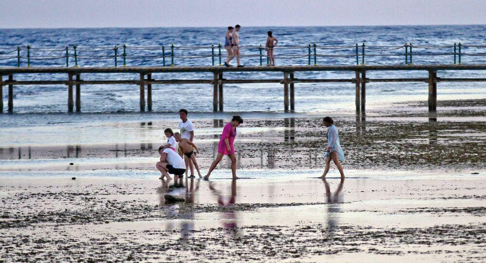 Cidade-resort de Sharm el-Sheikh, na Península do Sinai, no Egito