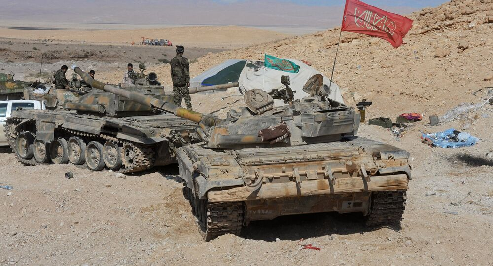 Destacamento iraniano na Síria