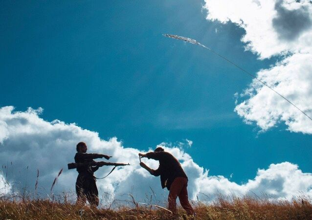 Cena do filme Batalha de Sebastopol