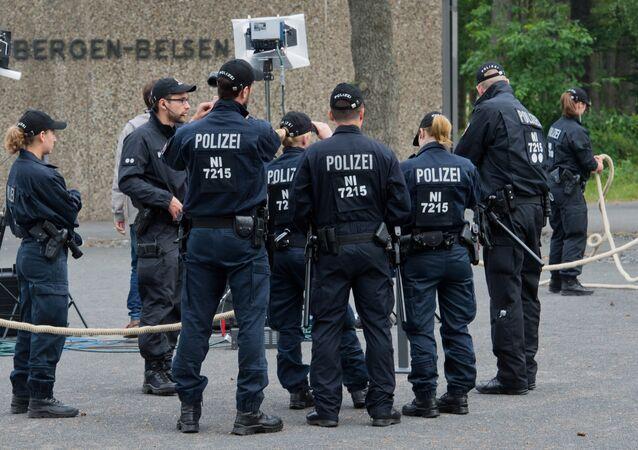Polícia alemã (foto de arquivo)