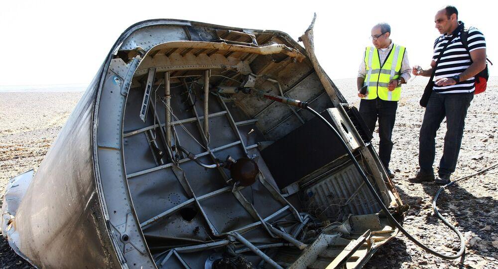 Airbus A321 da companhia aérea russa Kogalymavia caiu no Egito