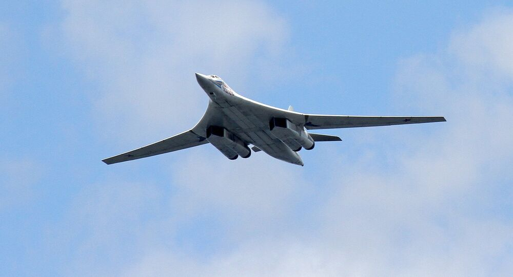 Bombardeiro estratégico russo Tu-160