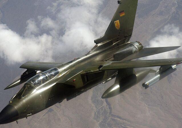 Caça Panavia Tornado da Luftwaffe (foto do arquivo)