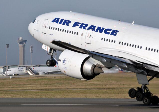 Boeing 777 da Air France. Foto de Arquivo