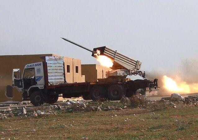Conflito em Alepo, na Síria