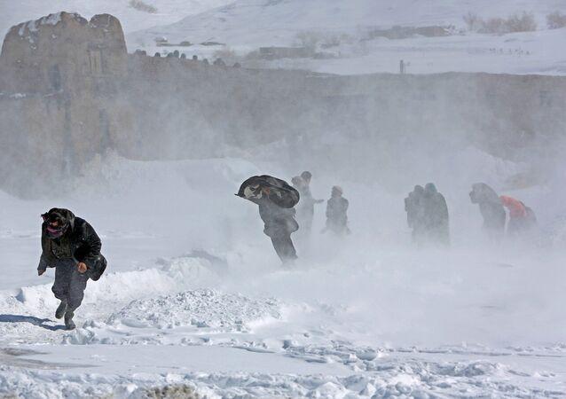 Nevascas no Afeganistão