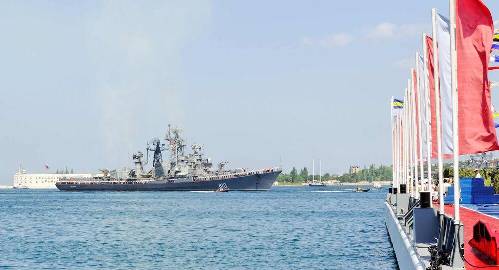 Navio Smetlivy da Frota do Mar Negro da Rússia