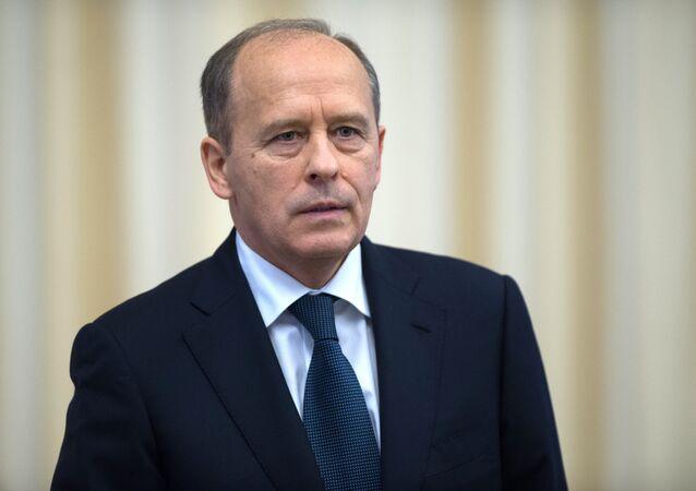 Aleksandr Bortnikov em 28 de outubro