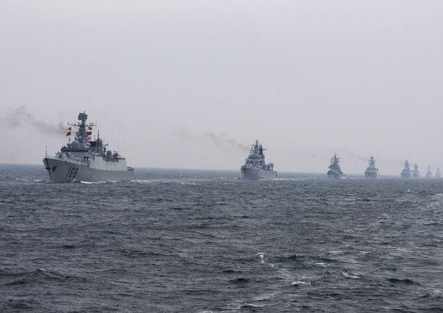 Navios de guerra da Marinha Chinesa