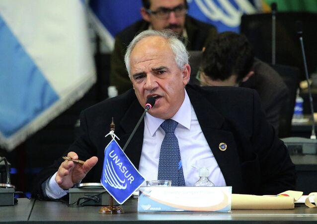 Ernesto Samper, secretário-geral da Unasul.