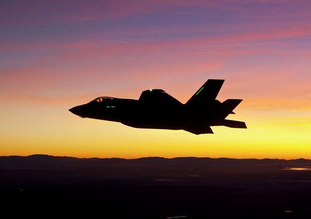 Aeronave elaborada pela Lockheed Martin (imagem referencial)