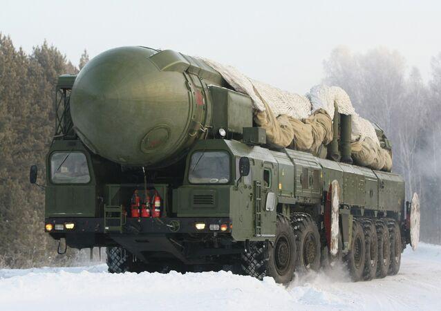 Complexo de míssil balístico nuclear intercontinental Topol
