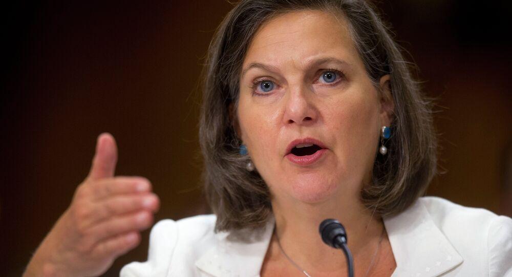 Victoria Nuland, secretária-assistente de Relações Europeias do Departamento de Estado dos EUA