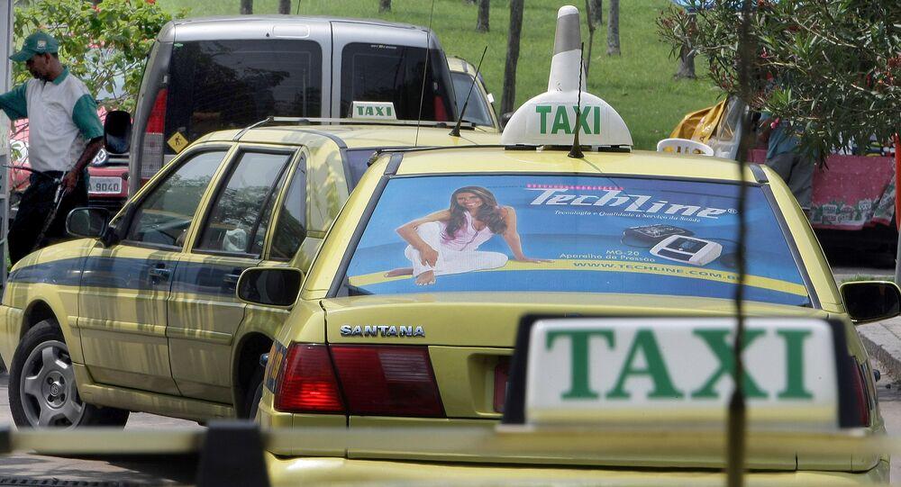 Táxi, Rio de Janeiro