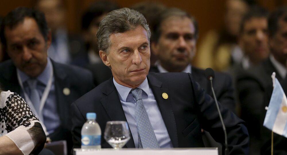 Presidente da Argentina, Mauricio Macri
