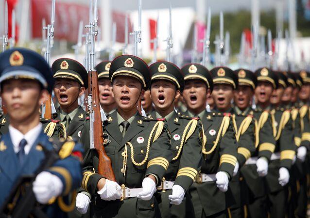 Soldados do Exército de Libertação Popular da China