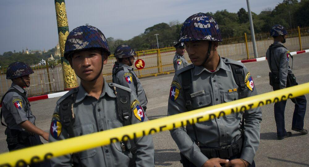 Polícia tailandesa (foto de arquivo)