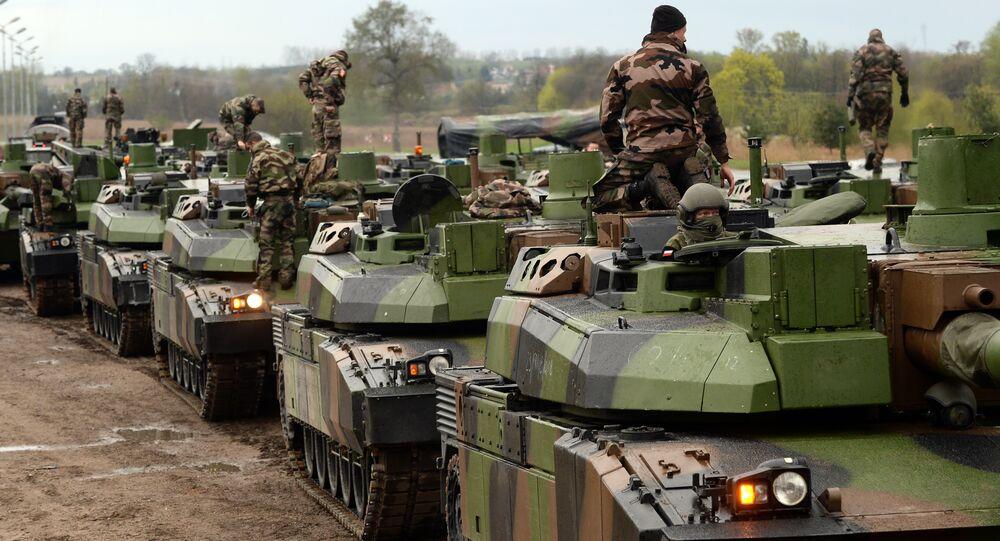 Tropas da OTAN participam dos exercícios militares na Polônia