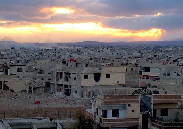 Daraya, subúrbio de Damasco