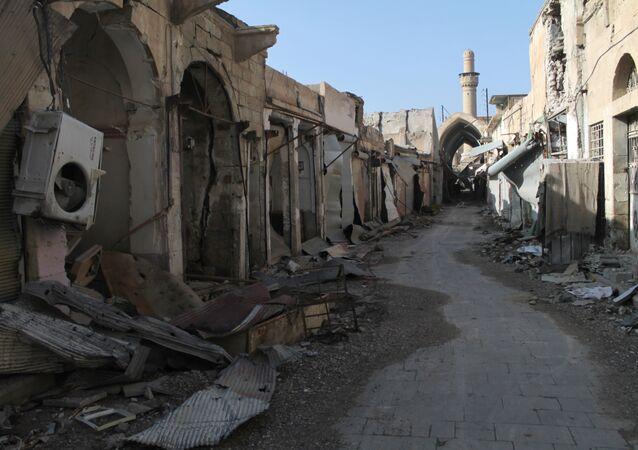 Cidade de Deir ez-Zor em junho de 2014 (foto de arquivo)