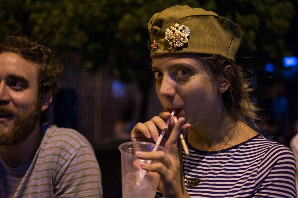 Bloco Soviético anima as ruas de São Paulo no fim de semana que antecede o Carnaval