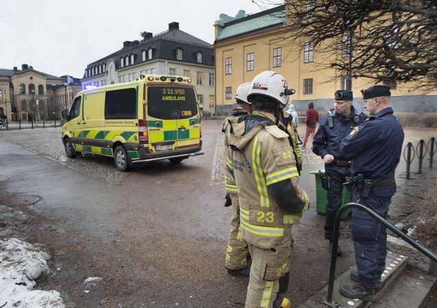 O incidente ocorreu na escola secundária de Tingvalla, na cidade de Karlstad