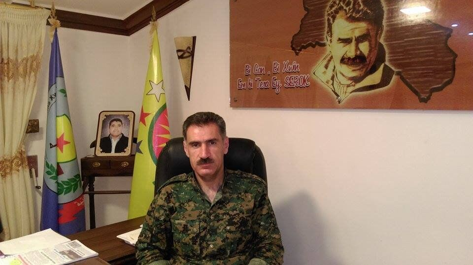 Abdo Ibrahim, ministro da Defesa do distrito curdo de Afrin, Turquia