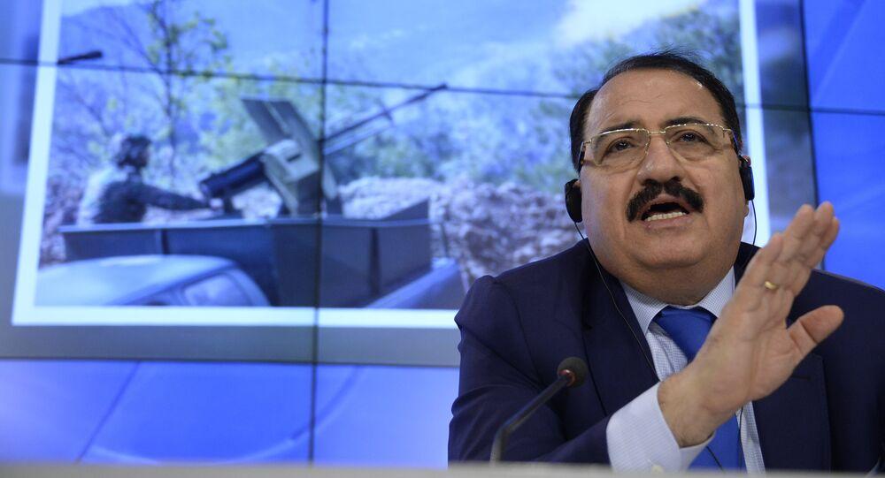 Embaixador da Síria na Rússia, Riad Haddad