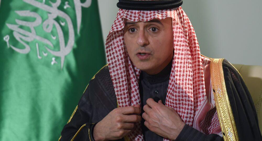 O chanceler saudita, Adel Jubeir, durante entrevista à agência AFP (arquivo)