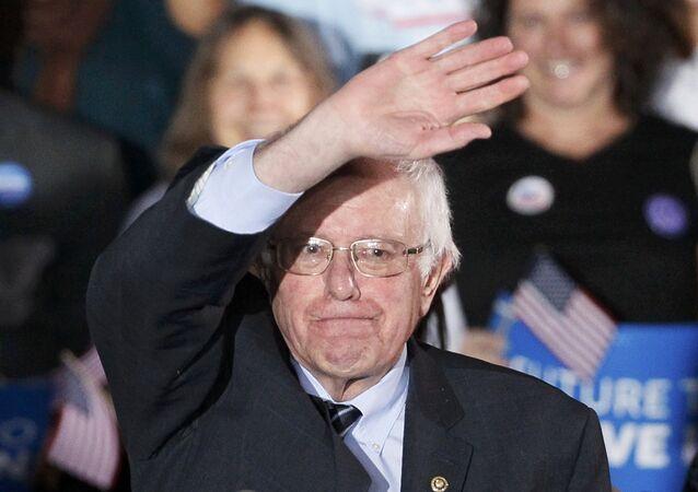 Bernie Sanders, candidato democrata à presidência dos EUA