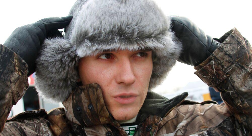 Automobilista russo Mikhail Aleshin