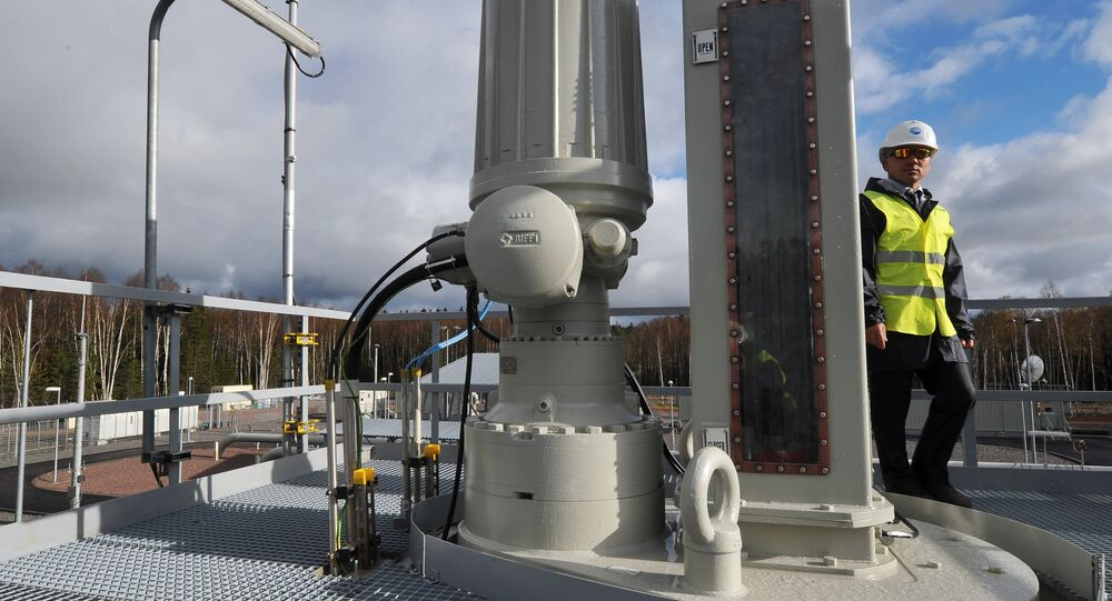 Lançamento da segunda linha do gasoduto Nord Stream