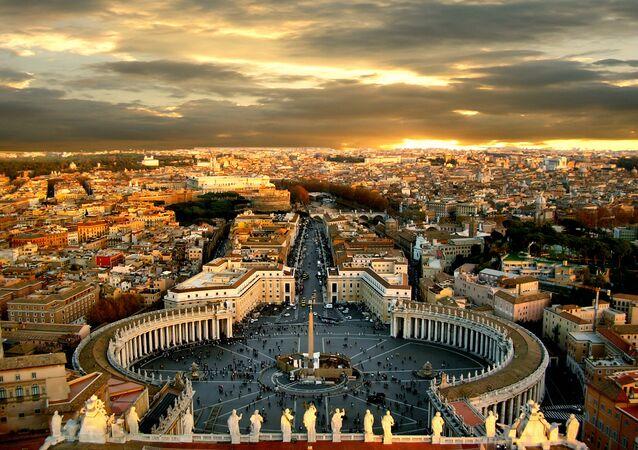 Vista do Vaticano