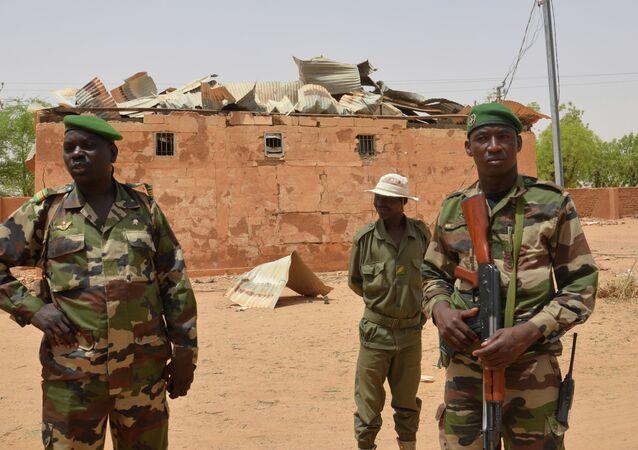 Soldados do Níger